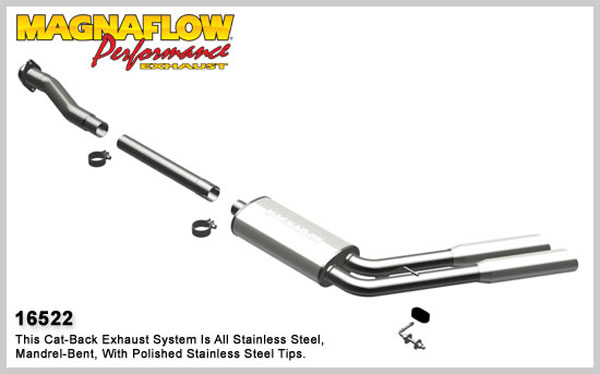 Magnaflow 16522:  Exhaust System for 2009 F-150 EC-CC dual same sd