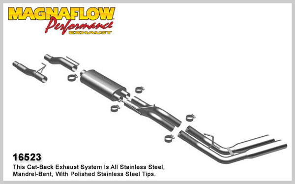 Magnaflow 16523:  Exhaust System for 2009 F-150 EC-CC dual same sd