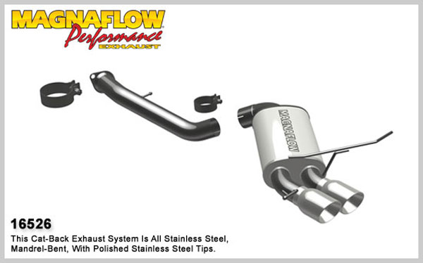 Magnaflow 16526:  Exhaust System for 2008-09 BMW 135i 3.0L