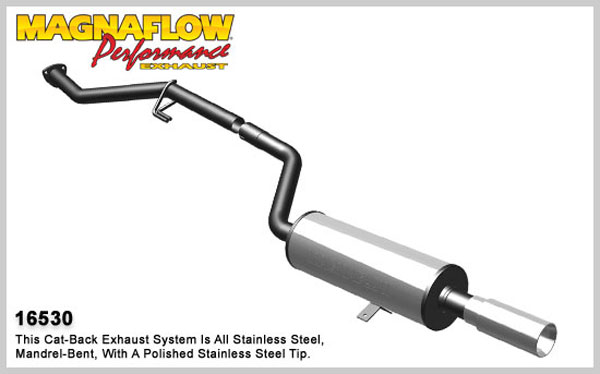 Magnaflow 16530:  Exhaust System for 1984-85 BMW 318i 1.8L