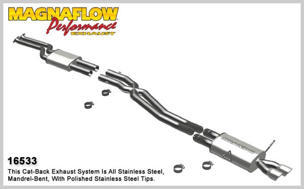 Magnaflow 16533:  Exhaust System for 2001-05 BMW 330I / CI 3.0L