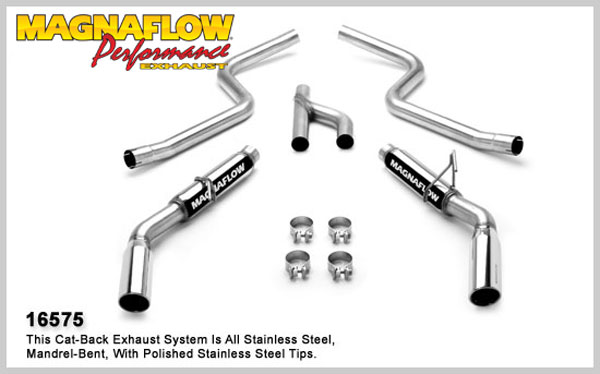1985 ford mustang bbk performance exhaust system  html
