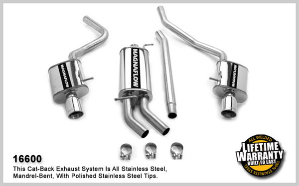 Magnaflow 16600:  Exhaust System for AUDI A4 2002-2005