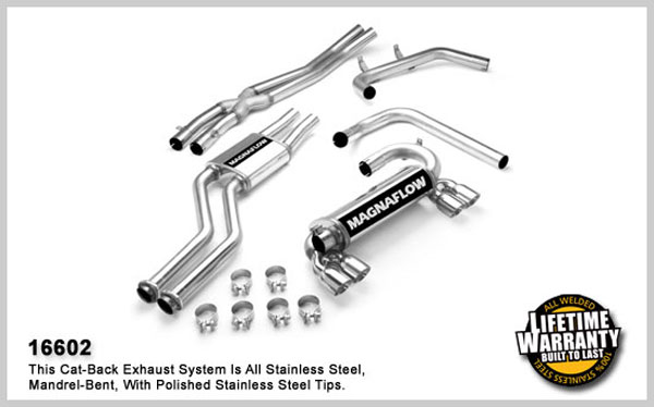 Magnaflow 16602:  Exhaust System for BMW M3 2001-2006