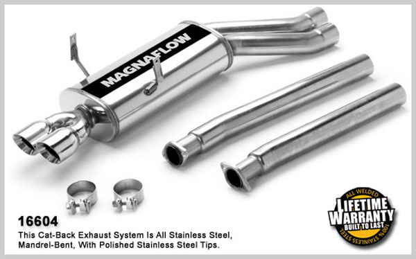Magnaflow 16604:  Exhaust System for BMW M3 1995-1999