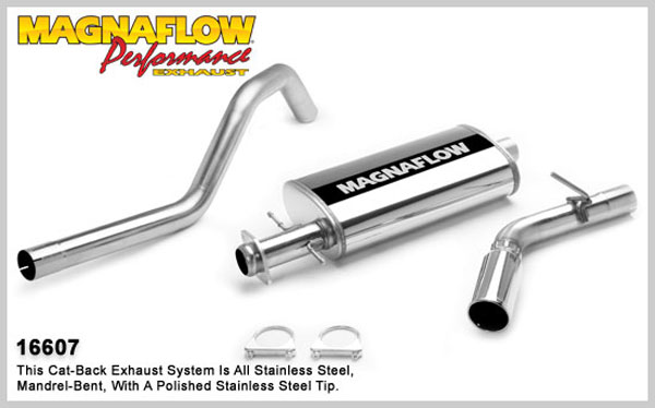 Magnaflow 16607:  Exhaust System for FORD EXPEDITION/LINCOLN NAVIGATOR EDDIE BAUER 2007