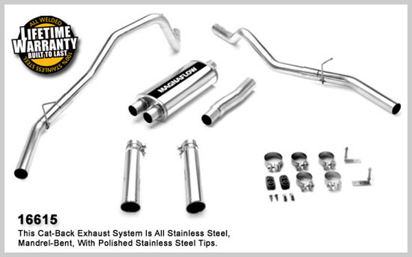Magnaflow 16615:  Exhaust System for FORD F-150 FX4 2005-2007