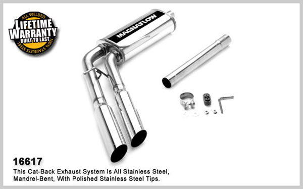 Magnaflow 16617:  Exhaust System for FORD F-150 FX4 2005-2007