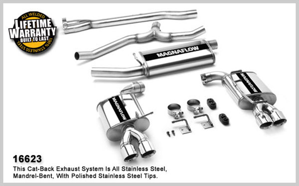 Magnaflow 16623:  Exhaust System for CHRYSLER 300 LIMITED 2005-2007