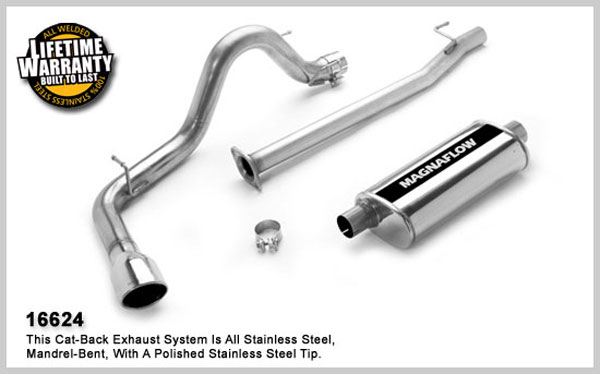 Magnaflow 16624:  Exhaust System for TOYOTA TACOMA X-RUNNER 2005-2007