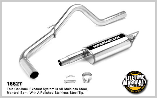 Magnaflow 16627:  Exhaust System for NISSAN TRUCK FRONTIER LE 2005-2007
