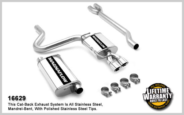 Magnaflow 16629:  Exhaust System for CHRYSLER 300 LIMITED 2005-2007