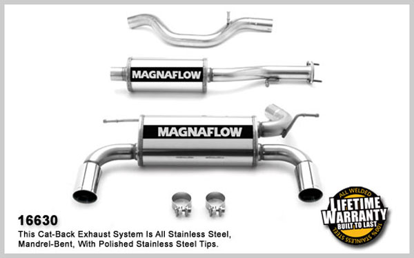Magnaflow 16630:  Exhaust System for 2005 Hummer H3 3.5L