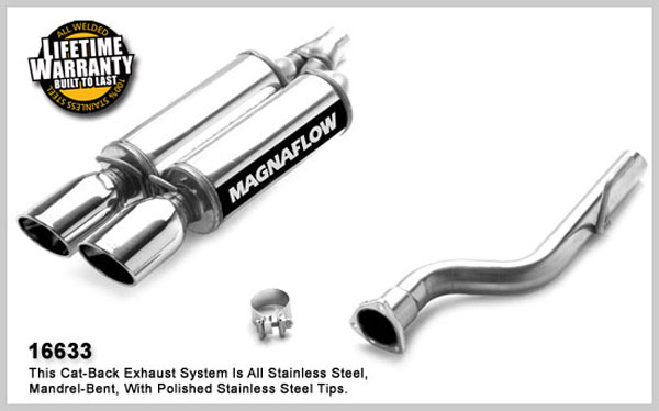 Magnaflow 16633:  Exhaust System for CHRYSLER CROSSFIRE 2004-2006