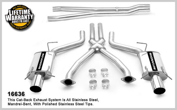 Magnaflow 16636:  Exhaust System for 2004- Cadillac CTS-V 5.7L