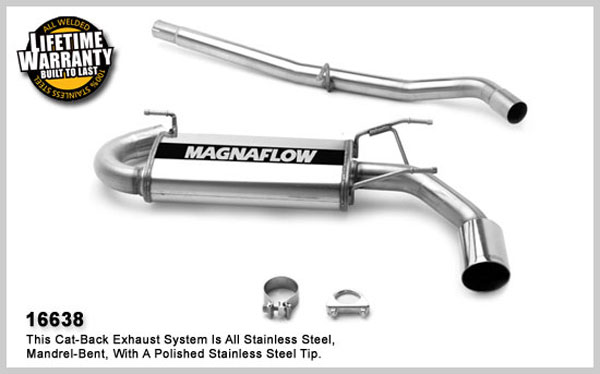 Magnaflow 16638:  Exhaust System for MAZDA MX-5 MIATA 1999-2005