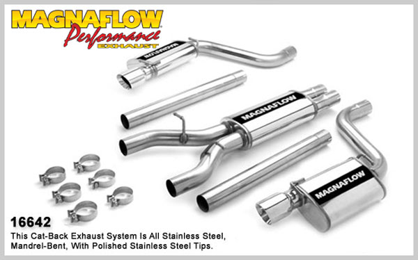 Magnaflow 16642:  Exhaust System for CHRYSLER 300C SRT-8 HEMI C SRT8 2005-2007