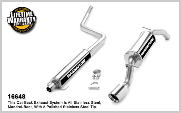 Magnaflow 16648:  Exhaust System for SCION XA 2004-2006