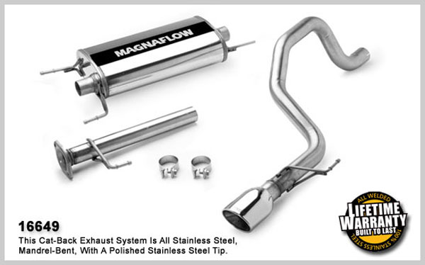 Magnaflow 16649:  Exhaust System for TOYOTA FJ CRUISER 2007