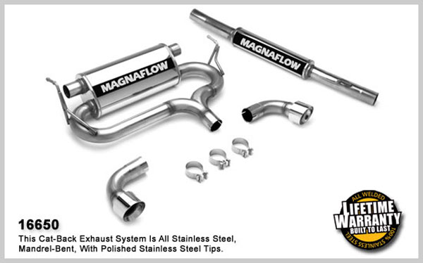Magnaflow 16650:  Exhaust System for VOLKSWAGEN GOLF R32 2004