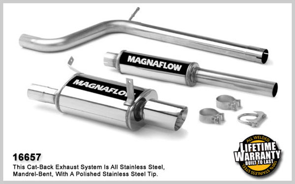 Magnaflow 16657:  Exhaust System for MITSUBISHI ECLIPSE GT 2006-2007