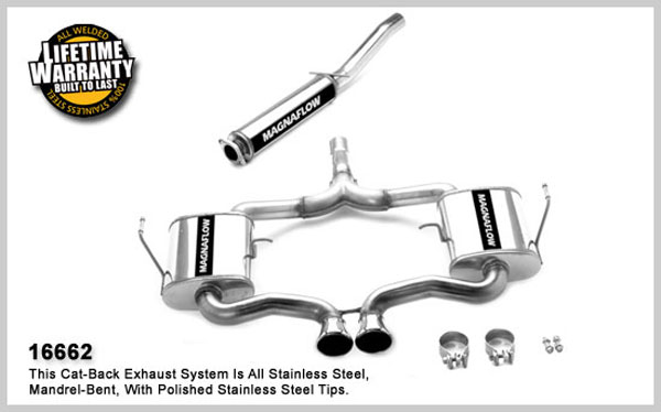 Magnaflow 16662:  Exhaust System for MINI COOPER S 2004-2006