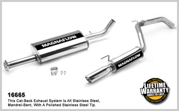 magnaflow 16665  exhaust system for jeep truck commander