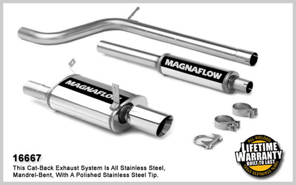 Magnaflow 16667:  Exhaust System for MITSUBISHI ECLIPSE GS 2006-2007