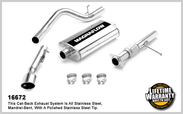 Magnaflow 16672:  Exhaust System for GM TAHOE/YUKON 2007-08 4.8L 5.3L Single Side Exit