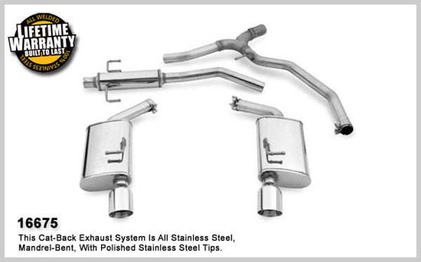 Magnaflow 16675:  Exhaust System for 2006- Ford Fusion 3.0L V6