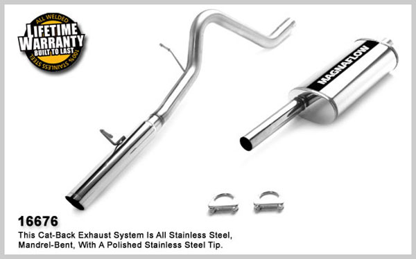 Magnaflow 16676:  Exhaust System for FORD ESCAPE 2004-2006