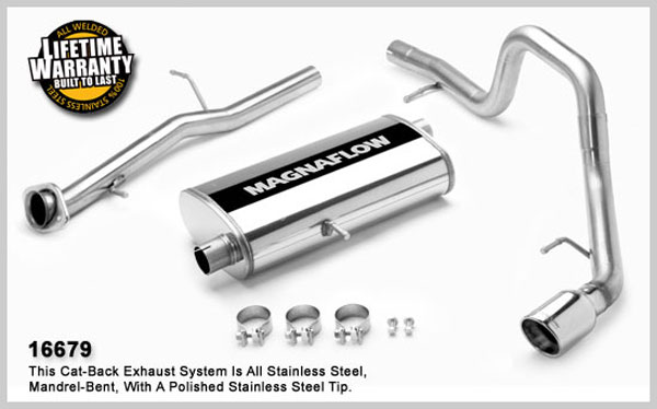 Magnaflow 16679:  Exhaust System for FORD EXPLORER SPORT TRAC LIMITED 2007