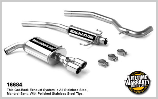 Magnaflow 16684:  Exhaust System for FORD FUSION S 2006-2007