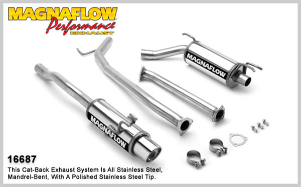 Magnaflow 16687:  Exhaust System for HONDA CIVIC DX 2006-2007