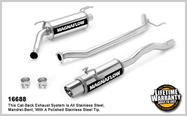 Magnaflow 16688:  Exhaust System for HONDA CIVIC SI 2006-2007