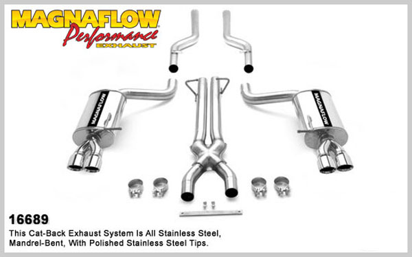 Magnaflow 16689:  Exhaust System for AUDI RS4 2007
