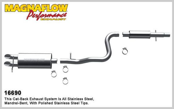 Magnaflow 16690:  Exhaust System for 2006 VW Beetle