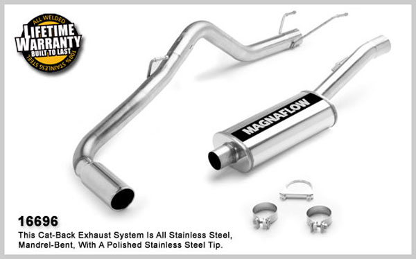 Magnaflow 16696:  Exhaust System for 2006 Dodge Ram 1500 SFA 5.7L