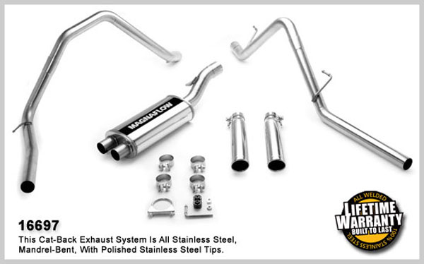 Magnaflow 16697:  Exhaust System for 2006 Dodge Ram 15 SFA 5.7L Dual