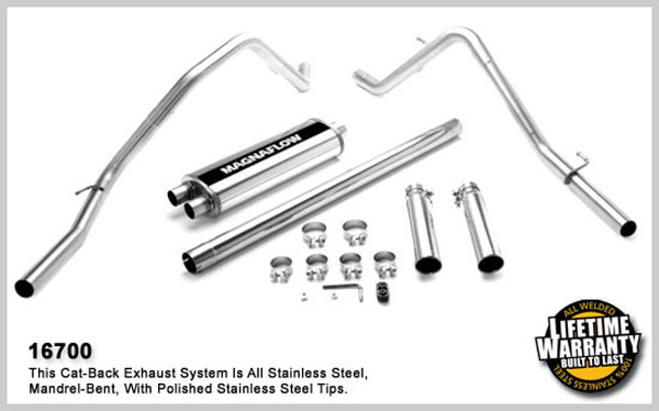 Magnaflow 16700:  Exhaust System for DODGE RAM 1500 TRUCK LARAMIE 2006-2007