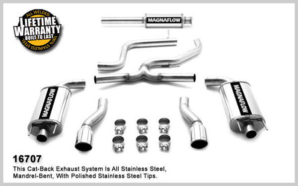 Magnaflow 16707:  Exhaust System for IMPALA SS 2006-2007