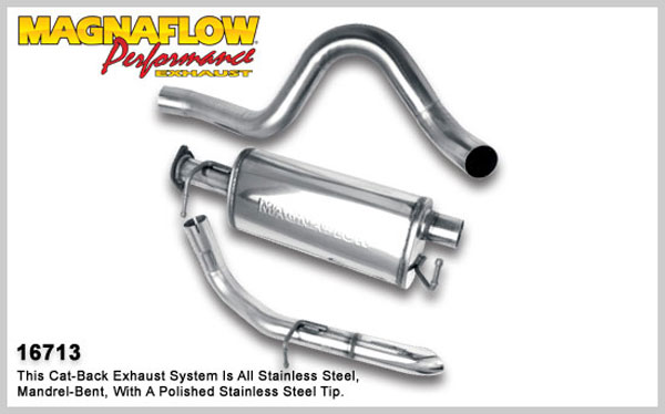 Magnaflow 16713:  Exhaust System for 1990-95 Range Rover / County V8
