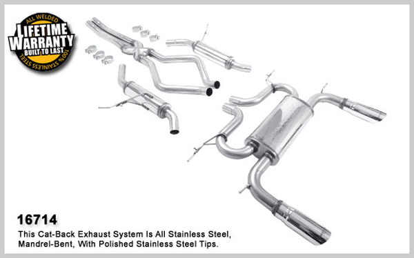 Magnaflow 16714:  Exhaust System for 2003-05 Range Rover HSE 4.4L
