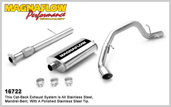 Magnaflow 16722:  Exhaust System for GM SUBURBAN 1500 LS 5.3L 2007-08
