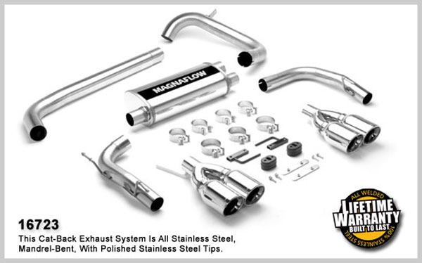 Magnaflow 16723:  Exhaust System for Firebird V8 1998-2002