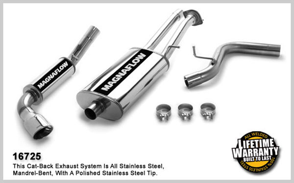 Magnaflow 16725:  Exhaust System for GM SUBURBAN/YUKON XL 2500 LS 2007