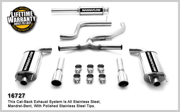 Magnaflow 16727:  Exhaust System for MONTE CARLO SS 2006-2007