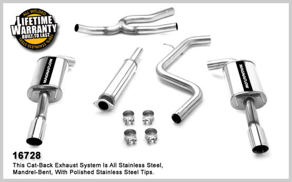 Magnaflow 16728:  Exhaust System for MONTE CARLO LS 2006-2007