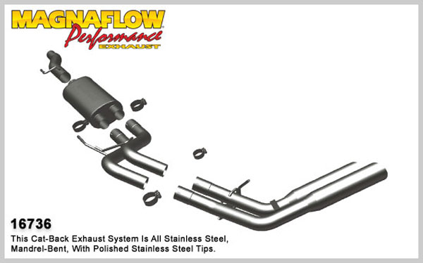 Magnaflow 16736:  Exhaust System for 2009 F-150 SC/SB