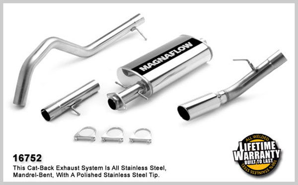 Magnaflow 16752:  Exhaust System for FORD EXPEDITION/LINCOLN NAVIGATOR EDDIE BAUER 2007